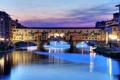 Картинка небо, вода, город, italy, florence