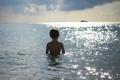 Картинка море, настроение, мальчик