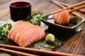 Картинка fish sticks, японская кухня, рыба, зелень петрушки, Japanese cuisine, parsley, палочки