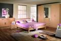 Картинка дизайн, дом, стиль, комната, вилла, интерьер, спальня