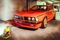 Картинка BMW, Оранжевая, Классика, БМВ, E24, 635csi
