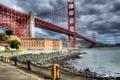 Картинка мост, река, Сан Фрациско