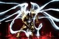 Картинка свет, крылья, меч, капюшон, Diablo, Fan Art, lll