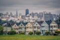 Картинка дома, панорама, Сан-Франциско, США, америка