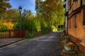 Картинка улица, фонарь, дорога