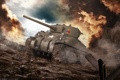 Картинка tank, USA, танк, танки, США, World of Tanks, M4A3E8 Sherman