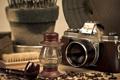 Картинка макро, трубка, фотоапарат
