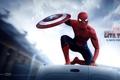 Картинка Spider-man, Peter Parker, Captain America:Civil War, Первый мститель:Противостояние
