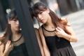 Картинка азиатка, девушка, взгляд
