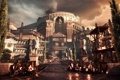 Картинка Statues, Barricades, Microsoft Game Studios, Rome, Ryse: Son of Rome, Fire, City