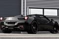 Картинка фон, чёрный, тюнинг, Феррари, Италия, Ferrari, суперкар