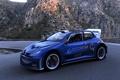 Картинка синий, скалы, Peugeot 206