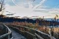 Картинка пейзаж, мост, небо