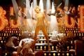 Картинка dance, singer, blonde, aguilera, burlesque