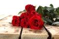 Картинка доски, розы, бутоны