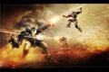 Картинка будущее, фантастика, война, солдаты, стрельба, section 8, сражение