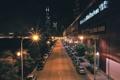 Картинка USA, фонари, ночь, огни, чикаго, Chicago, дорога