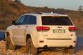 Картинка машина, внедорожник, вид сзади, Jeep, Grand Cherokee, Overland