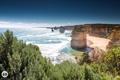 Картинка пейзаж, закат, природа, океан, скалы, Виктория, Австралия