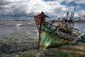 Картинка пейзаж, корабль, France, Brittany, Larmor