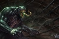 Картинка злодей, art, venom, Spider-Man, eddie brock