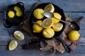 Картинка цитрусы, лимоны, яйца