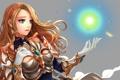 Картинка league of legends, арт, магия, девушка, игра, взгляд