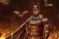 Картинка batman, art, dark knight, dc comics, bruce wayne