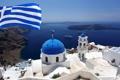 Картинка пейзаж, Greece, дома, природа, Santorini, море