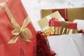 Картинка праздник, подарок, новый год, лента, подарки, new year, мишура