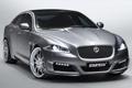 Картинка Jaguar, Авто, Серебро, Капот, Фары, Передок