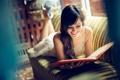 Картинка smile, книга, девушка, улыбка