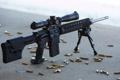 Картинка оружие, фон, Armalite AR-10