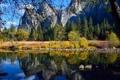 Картинка США, камни, Калифорния, скалы, вода, Национальный парк Йосемити, Yosemite National Park