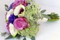 Картинка цветы, фото, розы, букет, эустома, каллы