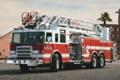 Картинка красный, лестница, пирс, пожарная машина, pierce arrow xt, firetrack