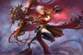 Картинка девушка, магия, эльф, Ether Saga Online