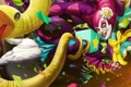 Картинка Rise of the Thorns, League of Legends, lol, clown, Zyra