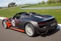 Картинка скорость, Prototype, Porsche, порше, 918, задок, 2013