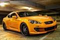 Картинка auto, hyundai, ораньжевого цвета