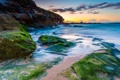 Картинка пляж, водоросли, природа, океан, Australia, Curl Curl Beach