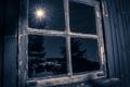 Картинка дом, окно, отрожение