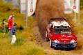 Картинка Ралли, Diorama, Макет, Citroen, Sebastien Loeb, WRC, Капот