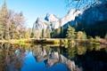 Картинка горы, природа, река, Yosemite National Park