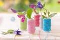 Картинка цветы, нитки, декор, климатисы
