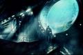 Картинка человек, база, сооружения, подводный мир
