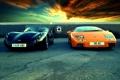 Картинка небо, Lamborghini, TVR