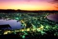 Картинка ночь, город, вид, Япония, хоккайдо