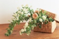 Картинка цветок, корзина, лепестки, flowers