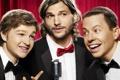 Картинка Comedy, Two and a Half Men, Sitcom, Angus T. Jones, Jon Cryer, Ashton Kutcher, TV ...